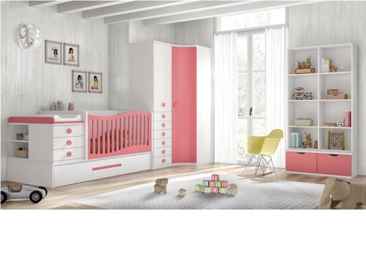 Habitacion bebe 104g - Mobiliario habitacion bebe ...